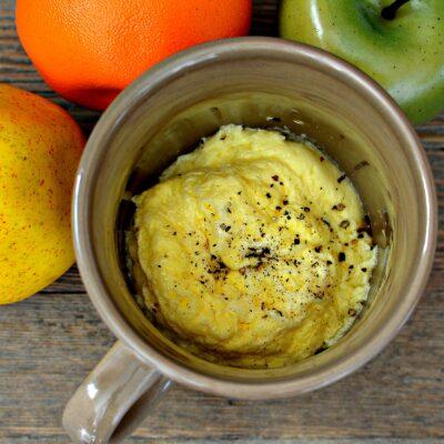 Омлет в кружке - рецепт с фото