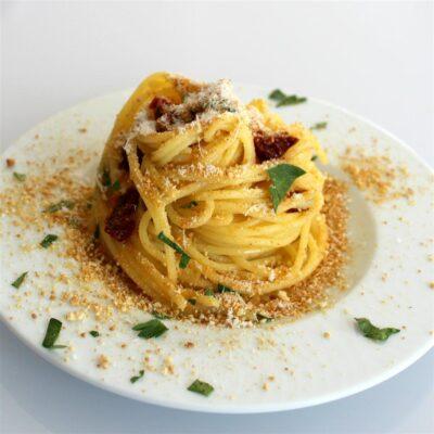 Спагетти по-сицилийки - рецепт с фото