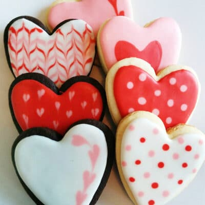 Печенье ко дню Святого Валентина - рецепт с фото