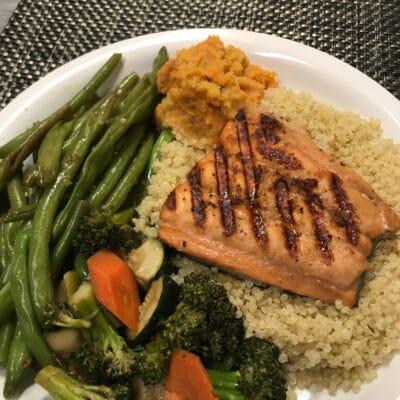Жареная красная рыба - рецепт с фото