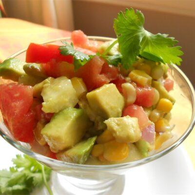 Салат Гуакамоле - рецепт с фото