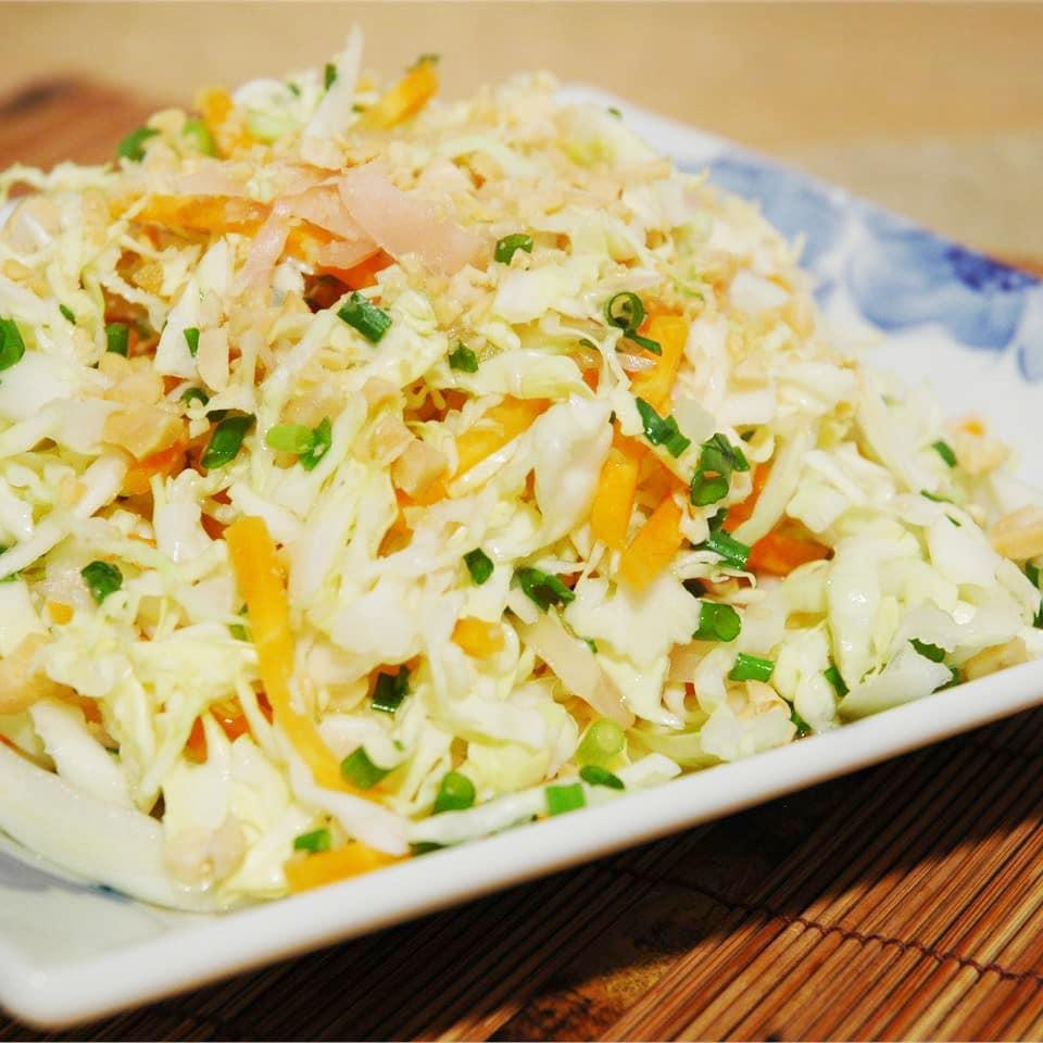 Имбирно-капустный салат