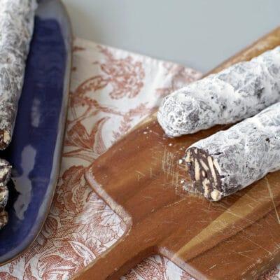 Сладкая колбаска «Салями» - рецепт с фото