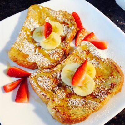 Французский тост (гренки) - рецепт с фото