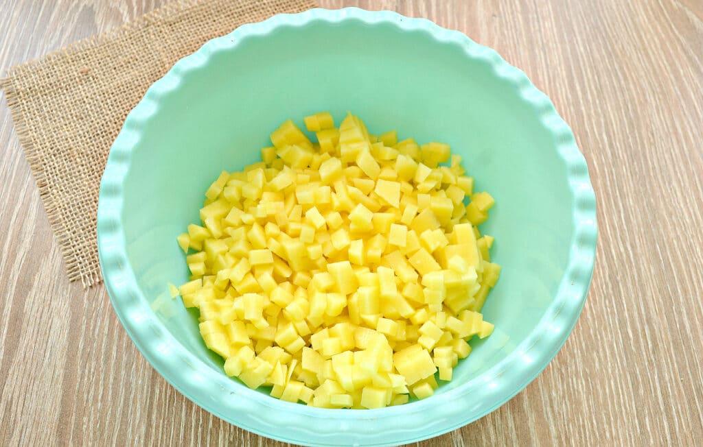 Фото рецепта - Вак-беляши с картошкой - шаг 2