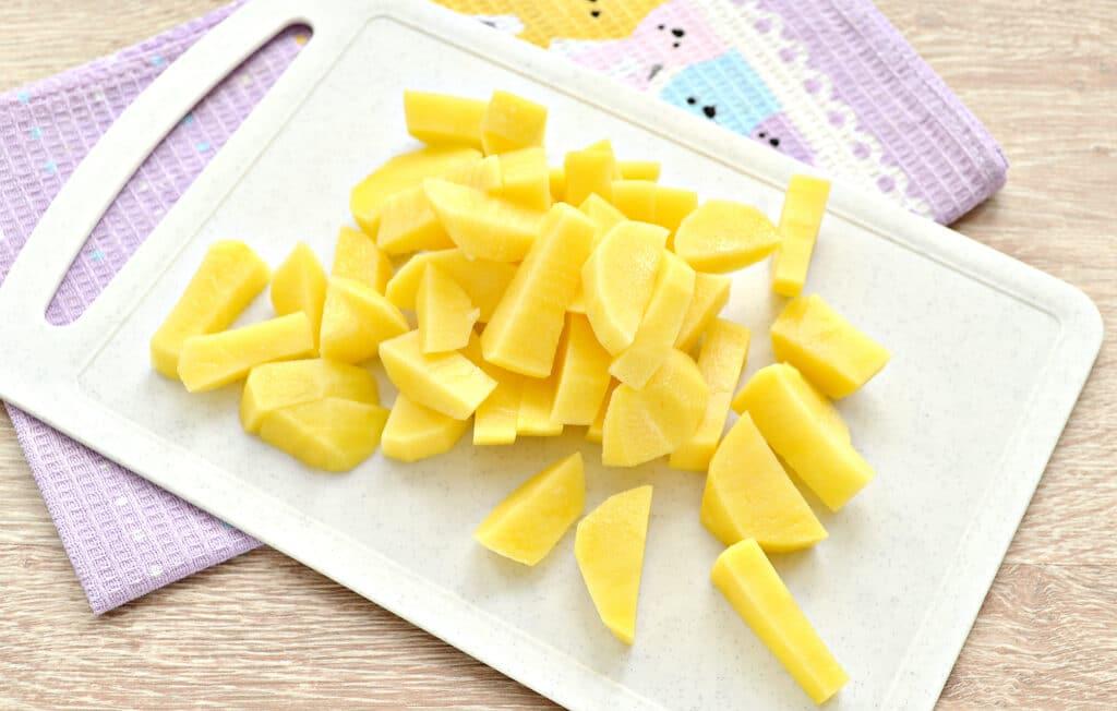 Фото рецепта - Постные щи из свежей белокочанной капусты - шаг 2