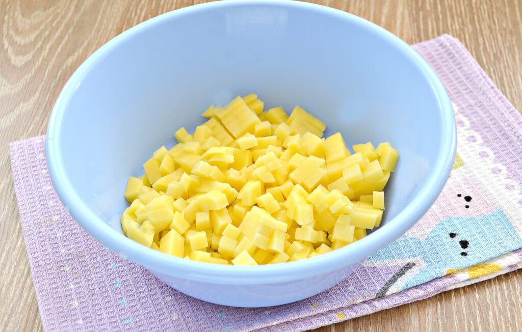 Фото рецепта - Курник с картофелем и куриным фаршем - шаг 2