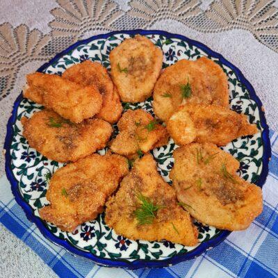 Куриные наггетсы с хрустящей корочкой - рецепт с фото