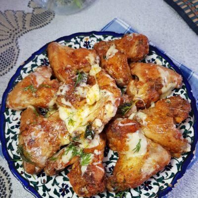 Куриные крылышки в хрустящей панировке - рецепт с фото