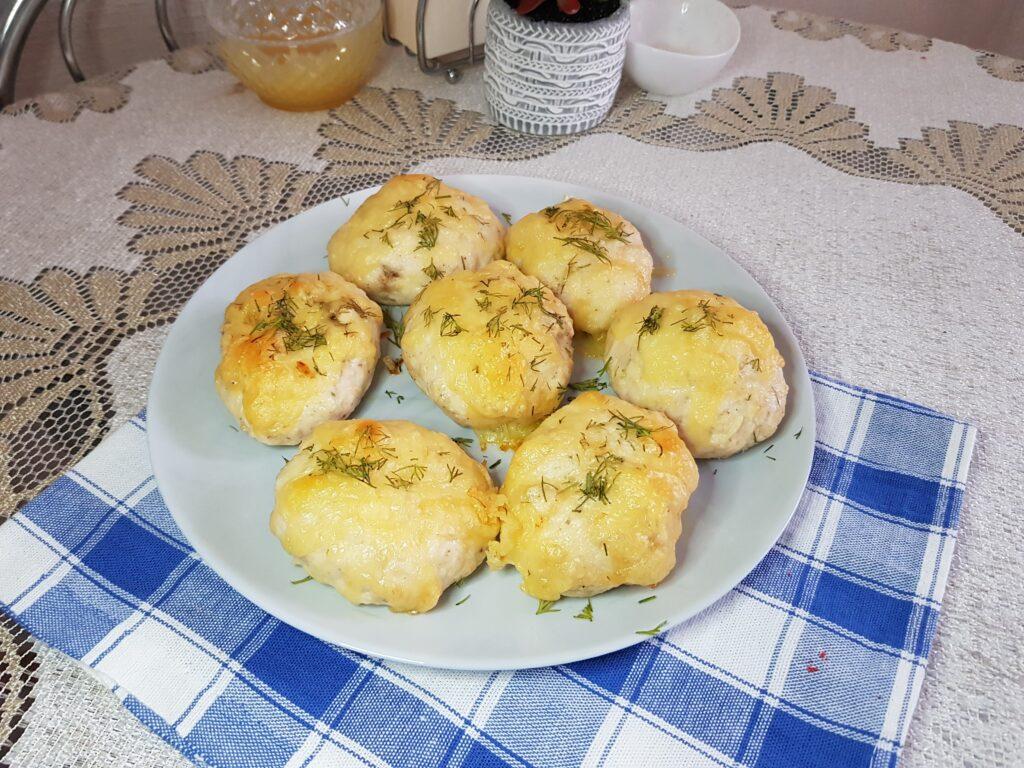 Фото рецепта - Ленивые котлеты по-киевски - шаг 5