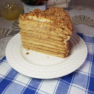 Торт «Рыжик» - рецепт с фото
