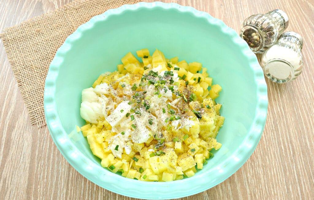 Фото рецепта - Вак-беляши с картошкой - шаг 4