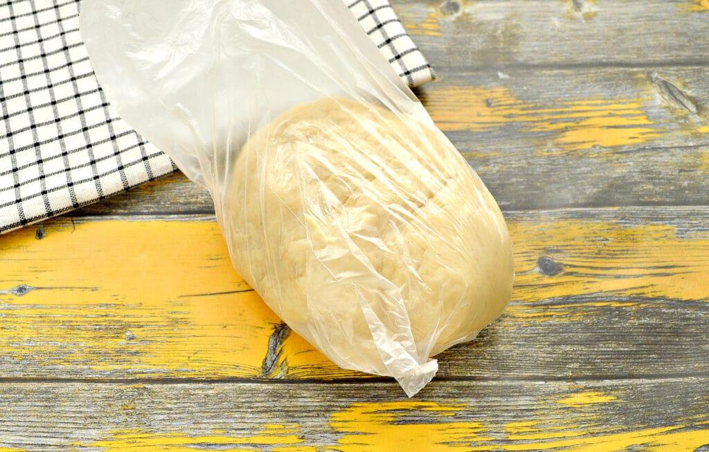 Фото рецепта - Пирог с курицей и капустой - шаг 5
