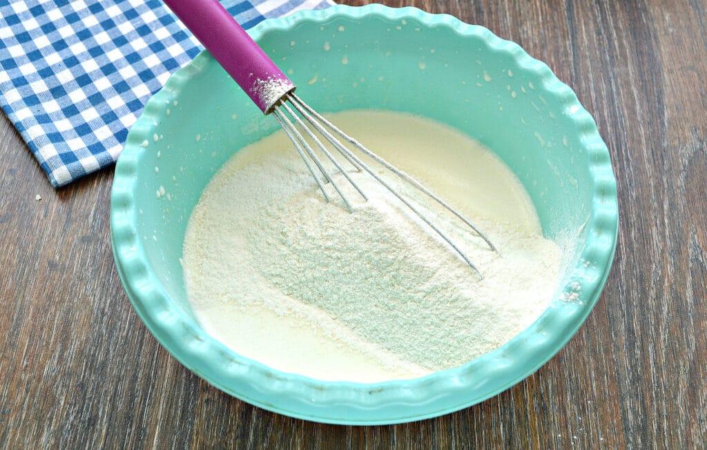 Фото рецепта - Блинное тесто на сметане - шаг 5