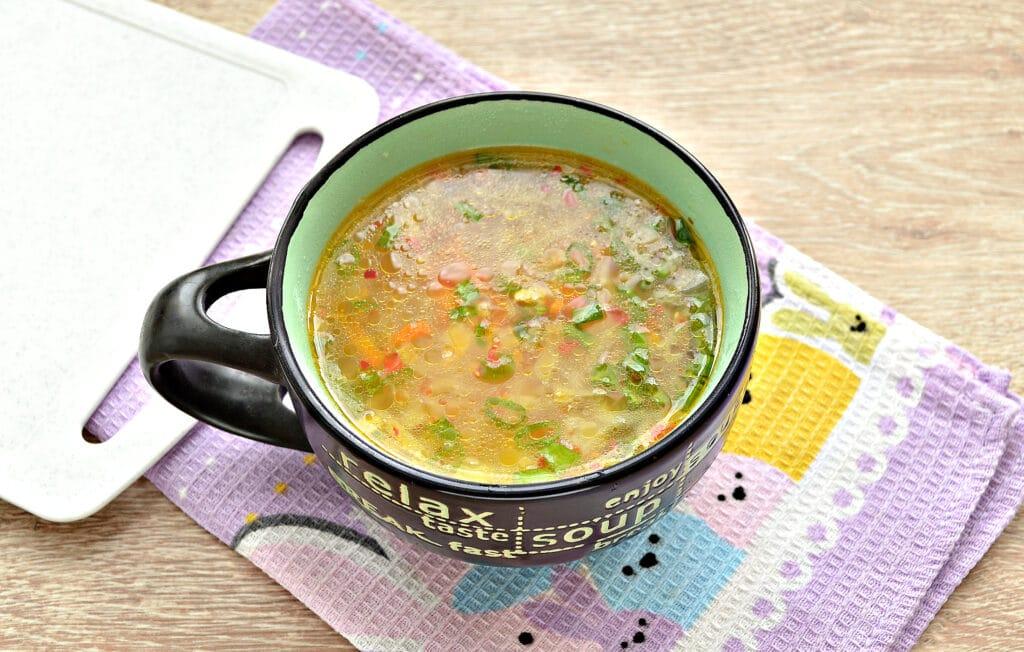 Фото рецепта - Постные щи из свежей белокочанной капусты - шаг 7
