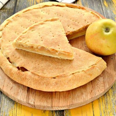 Яблочно-лимонный пирог - рецепт с фото