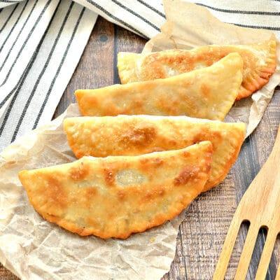 Домашние чебуреки с фаршем (тесто с уксусом) - рецепт с фото