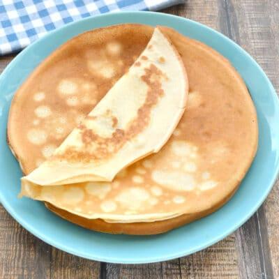 Блинное тесто на сметане - рецепт с фото