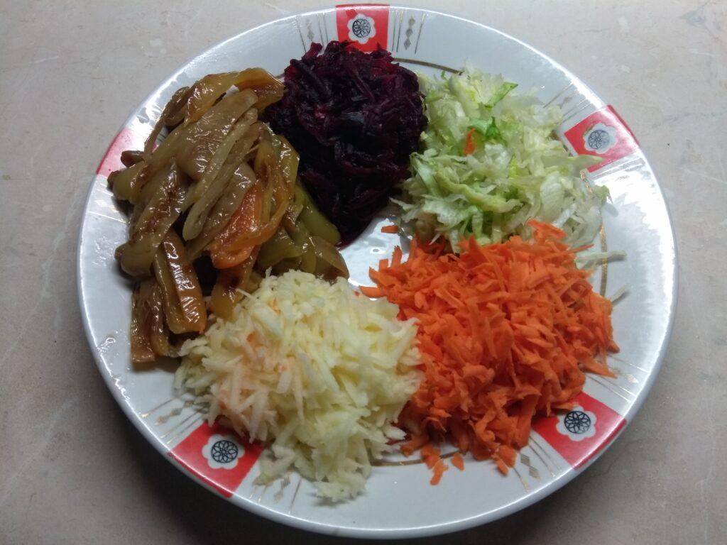 Фото рецепта - Овощной салат-конструктор - шаг 6