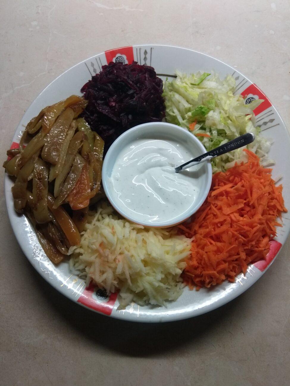 Овощной салат-конструктор