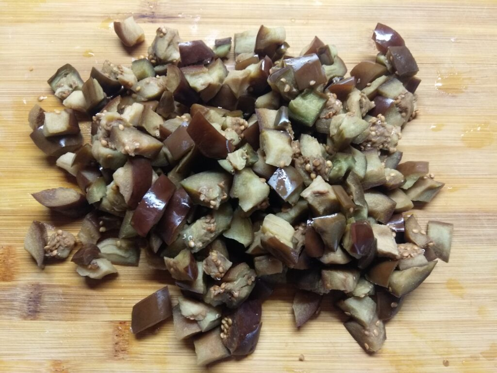 Фото рецепта - Рис с баклажанами - шаг 3
