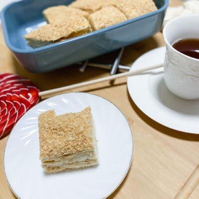 Классический торт «Наполеон» - рецепт с фото