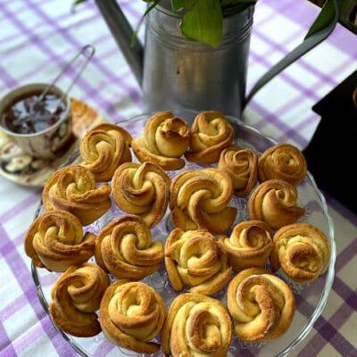 Вкусное творожное печенье - рецепт с фото