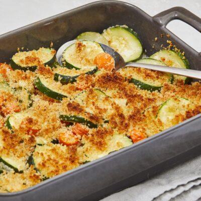 Запеканка из моркови и кабачков - рецепт с фото