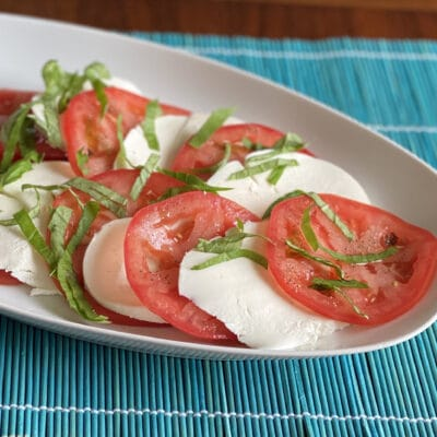 """Простой салат """"Капрезе"""" - рецепт с фото"""