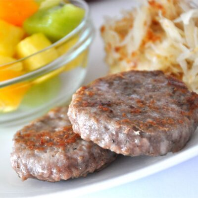 Котлеты из свинины со специями - рецепт с фото