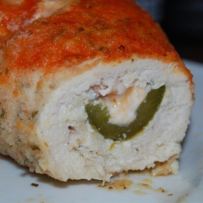 Куиные рулетики, фаршированные перцем и сыром - рецепт с фото