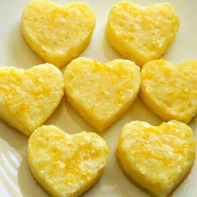 Лимонные пирожные с глазурью - рецепт с фото