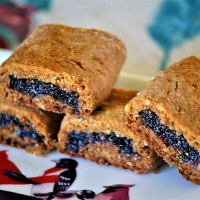 Печенье с начинкой из инжира - рецепт с фото