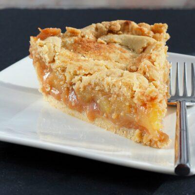 Веганский яблочный пирог - рецепт с фото