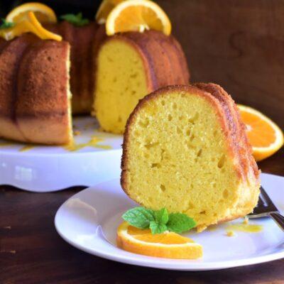 Апельсиновый пирог - рецепт с фото