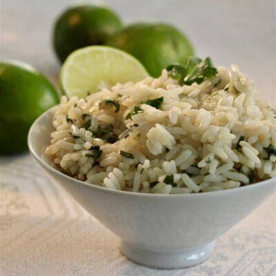 Ароматный рис с кинзой - рецепт с фото