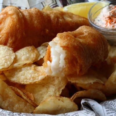 Рыба в хрустящей корочке (в кляре) - рецепт с фото