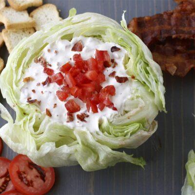 Белый соус с беконом и помидорами - рецепт с фото