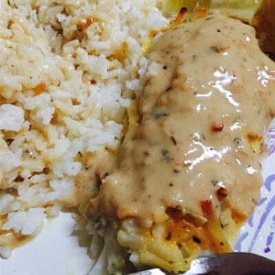 Винный чесночный соус для рыбы и морепродуктов - рецепт с фото