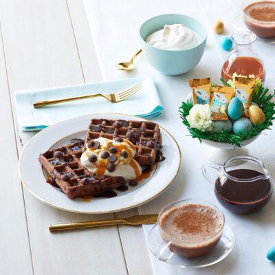 Шоколадные вафли на молоке - рецепт с фото