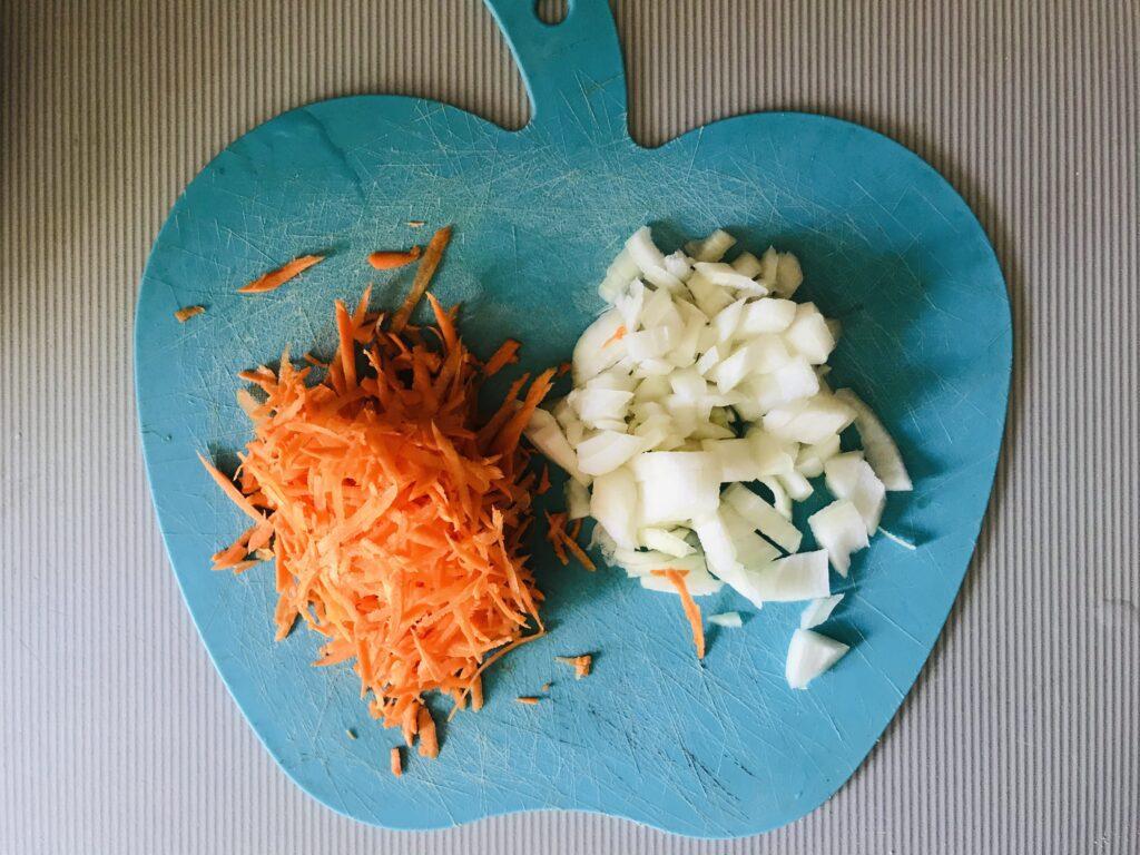 Фото рецепта - Тушёные овощи на сковороде - шаг 1