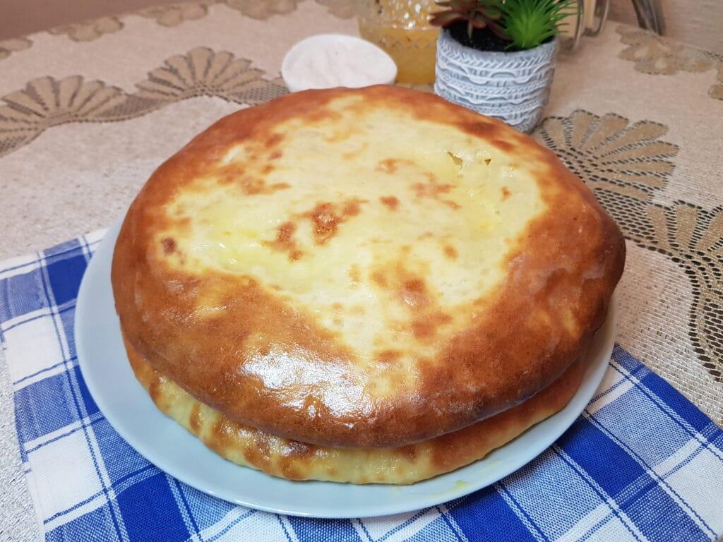 Фото рецепта - Осетинский пирог - шаг 10