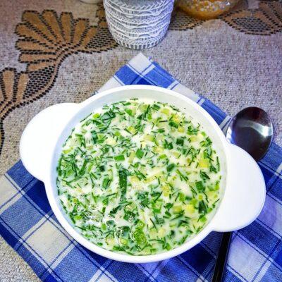 Окрошка овощная на молочной сыворотке - рецепт с фото