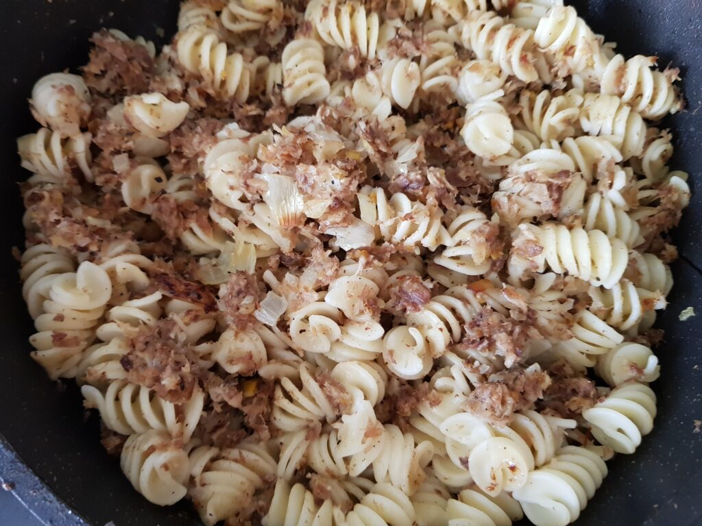 Фото рецепта - Макароны по-флотски с куриным мясом - шаг 5