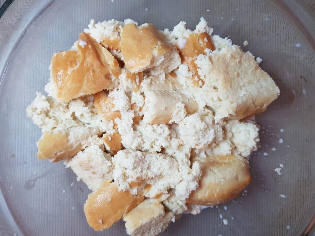 Фото рецепта - Картофельно-хлебные котлеты с зеленью - шаг 1
