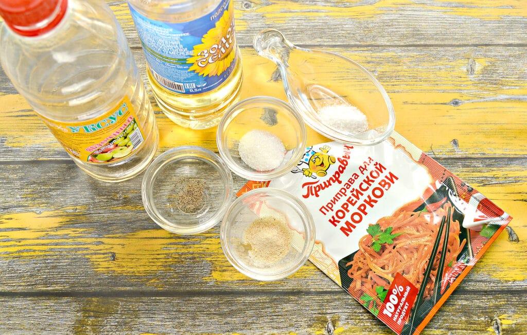 Фото рецепта - Домашняя морковка по-корейски (без терки) - шаг 4