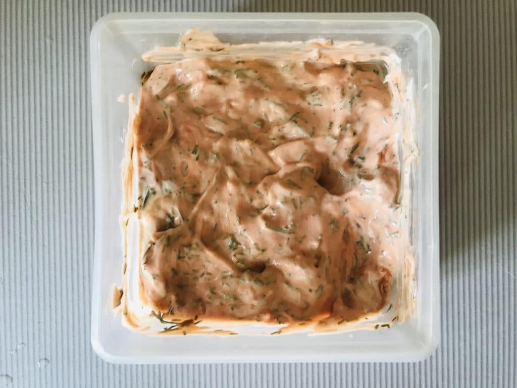 Фото рецепта - Пикантный соус к мясу или креветкам - шаг 5