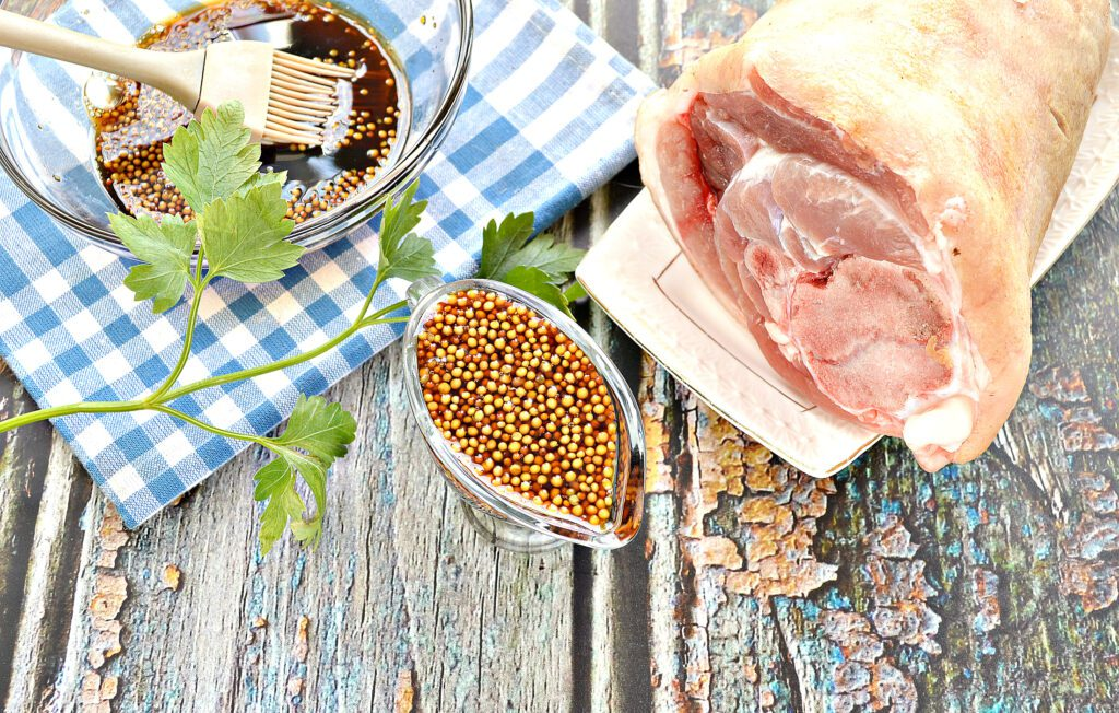 Фото рецепта - Маринад для рульки свиной - шаг 6