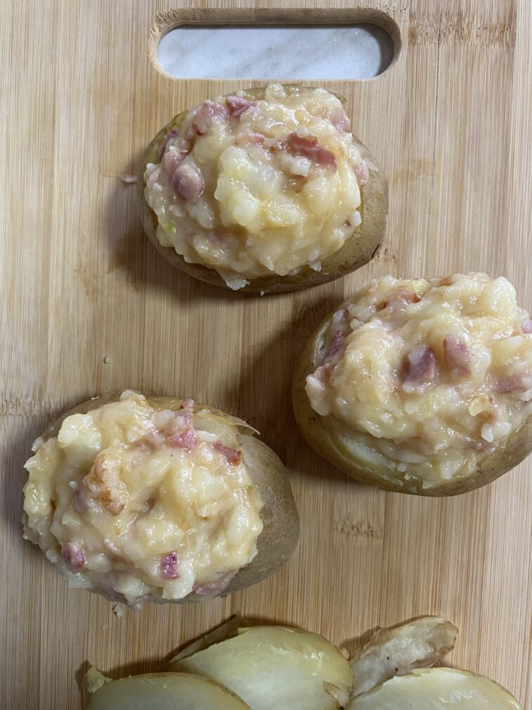 Фото рецепта - Фаршированный картофель - шаг 11