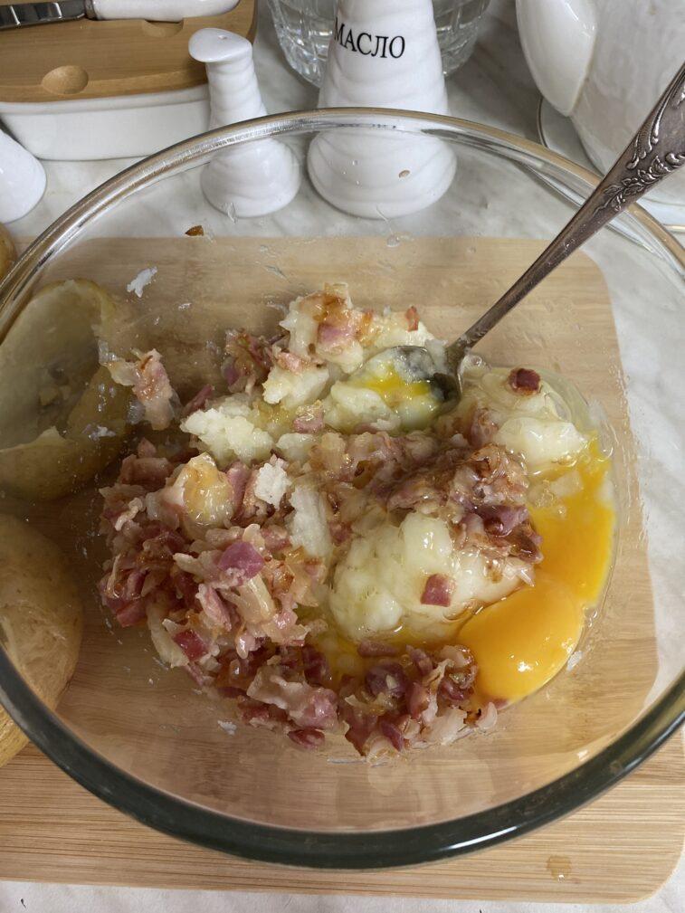 Фото рецепта - Фаршированный картофель - шаг 10